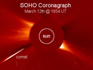 Student finds SOHO's 2,000th comet