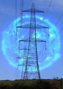 Sun's threat to power grids