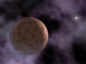 artist's impression of Sedna