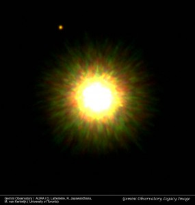 First image of extrasolar planet