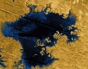 Lake levels are falling fast on Titan