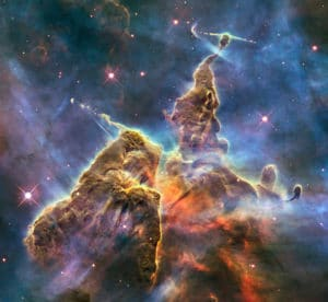 Carina Nebula photographed by Hubble (NASA)